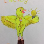 Volt, the Energy Eagle