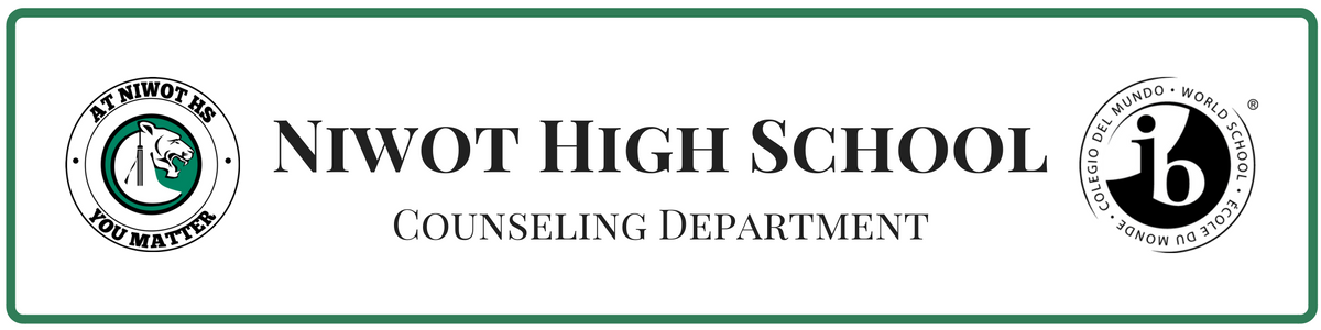 Niwot High School Counseling